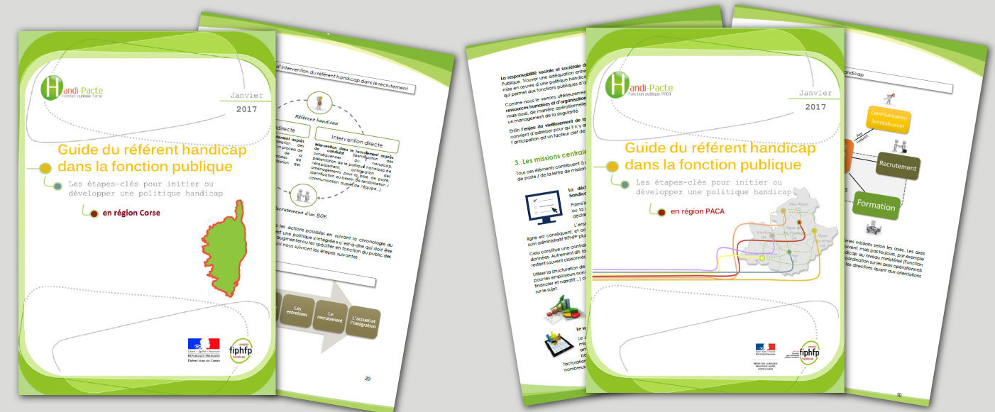 Guides du référent handicap Corse et PACA