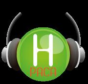 Logo Handi-Pacte PACA en forme de tête enserrée par un casque audio