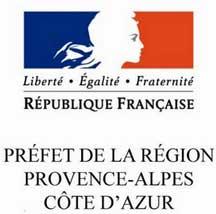 Logo de la Préfecture de la Région PACA