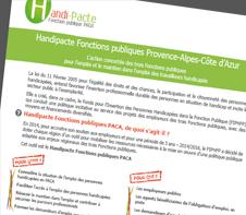 Plaquette Handi-Pacte PACA