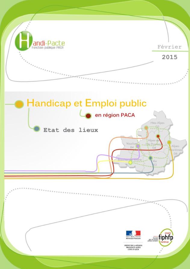 Handicap et Emploi en PACA - 2015