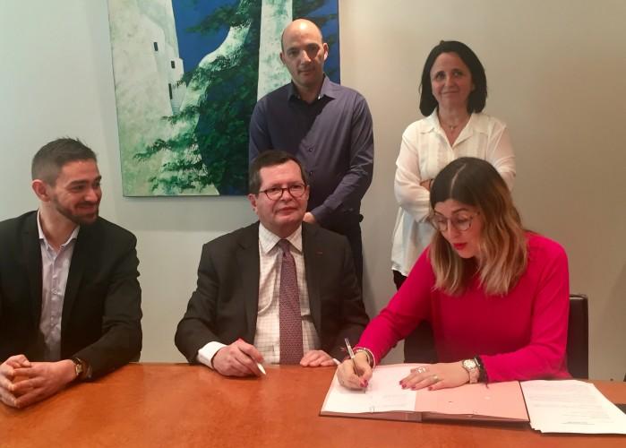 Convention de partenariat entre la Collectivité de Corse et le FIPHFP